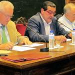 Melchor Fernández, José Antonio Bron y Jesús Mella