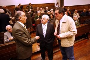 Juan de Lillo, Luis Arias de Velasco y José Antonio Bron